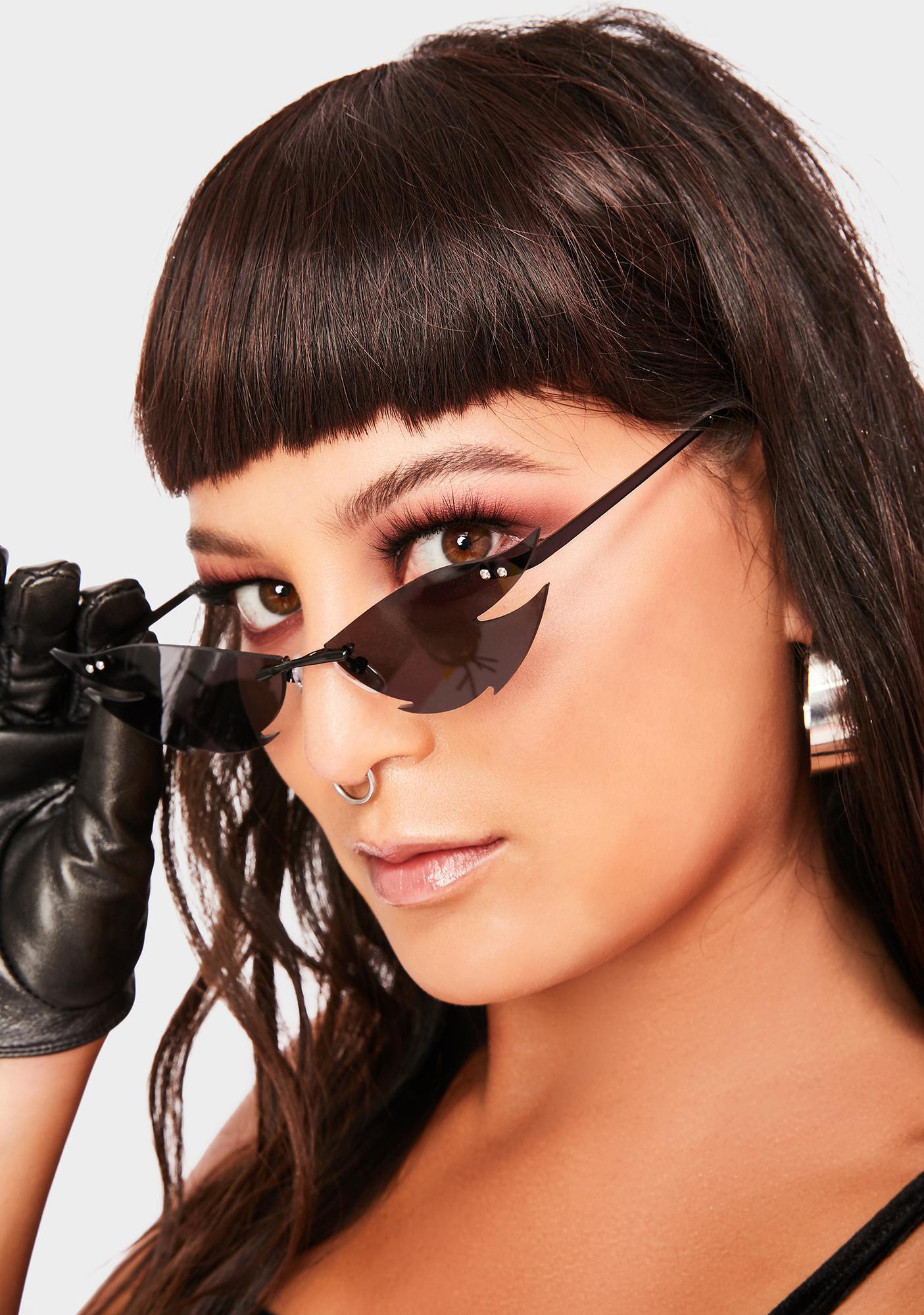 Cut Deep Frameless Sunglasses
