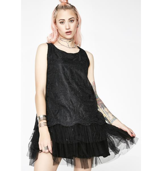 Dark Dreamin' Tulle Dress