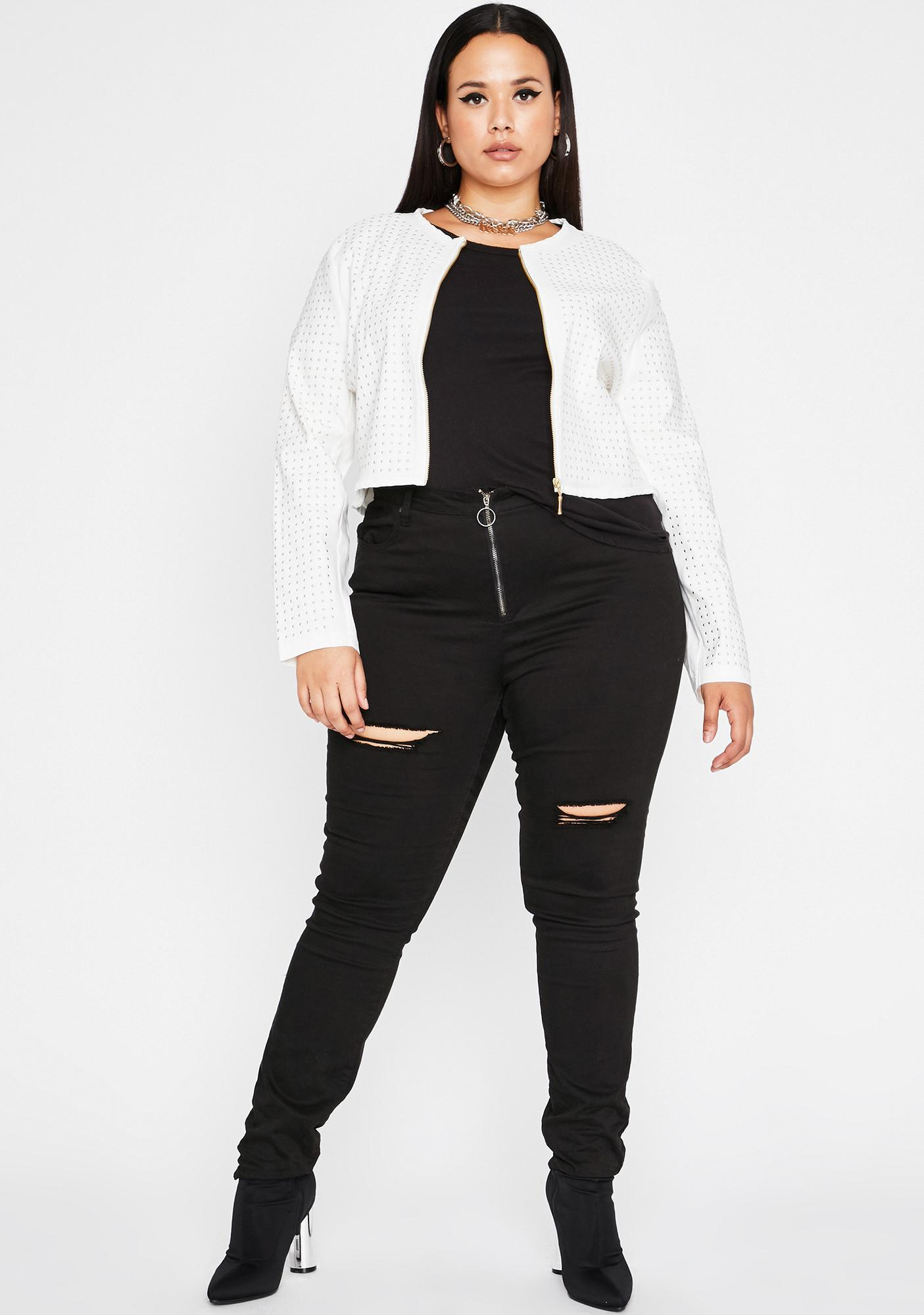 My Guard Up Cropped Jacket