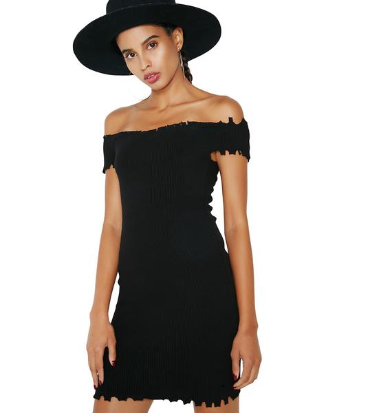Kiki Riki Reckless Off Shoulder Dress