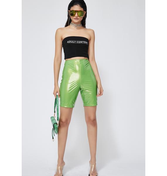 Nuclear Dark Love Biker Shorts