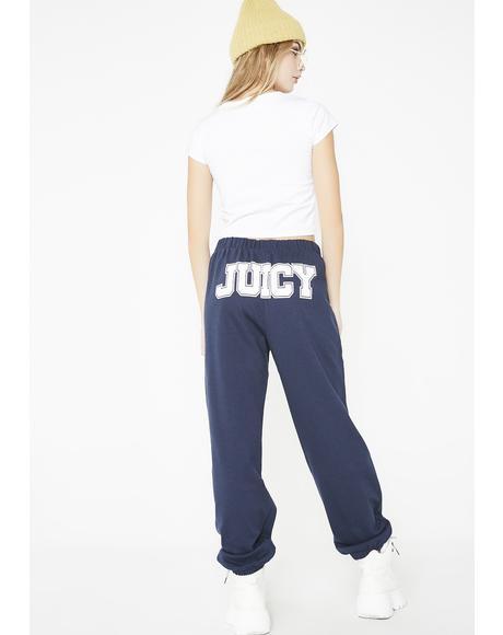 Back Juicy Jogger Pants