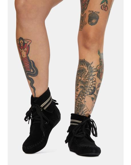 Takin' It Easy Slipper Boots