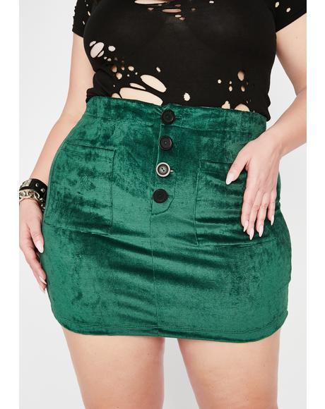 Ivy Wild Resident Misfit Mini Skirt