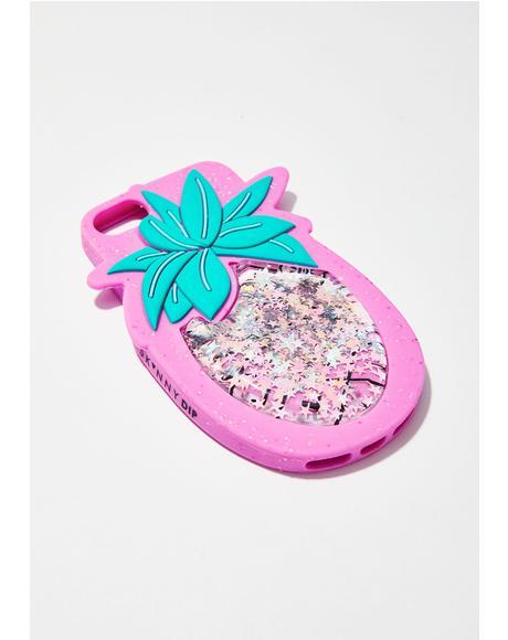Pineapple Blush iPhone Case
