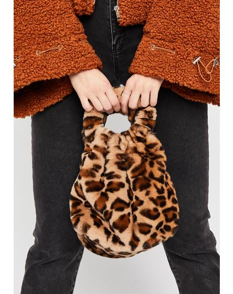 Fierce Side Of Sass Fuzzy Handbag