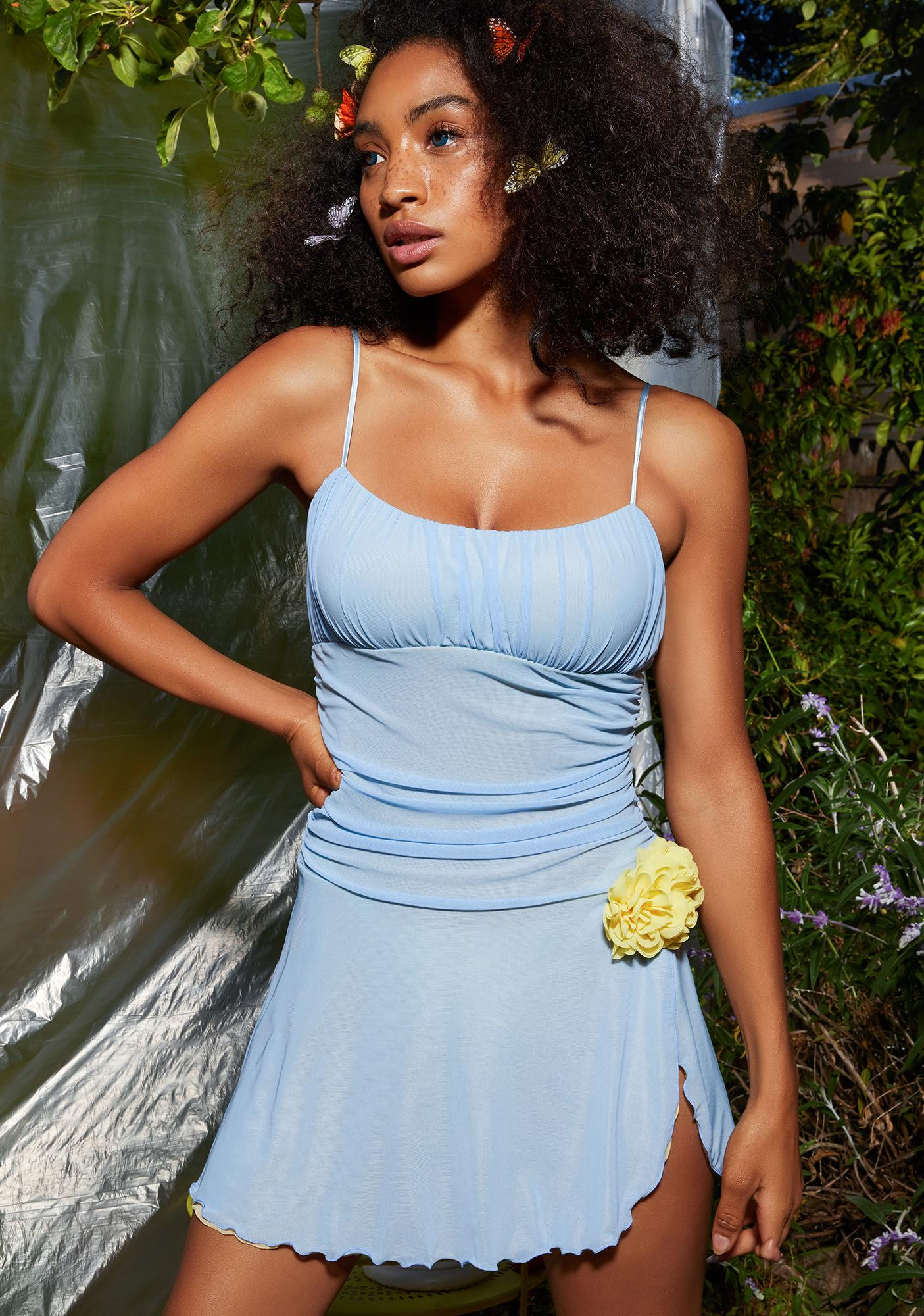 Sugar Thrillz Debutante Ball Mesh Dress