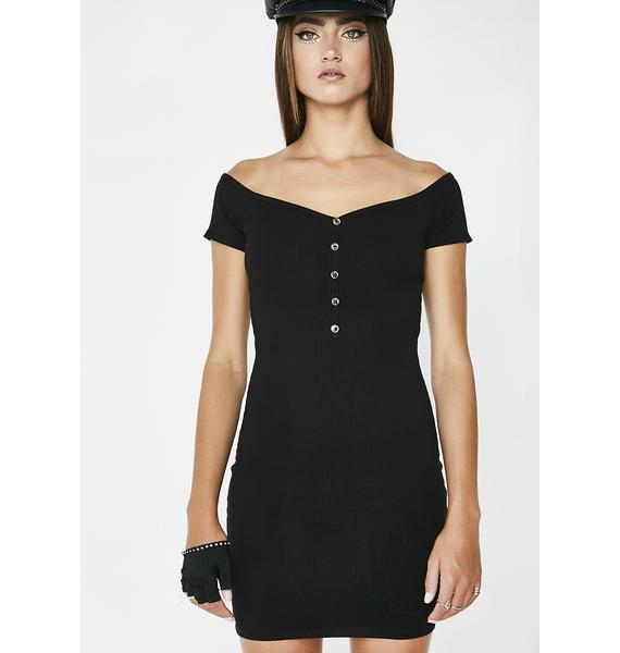 Noir Better Now Mini Dress