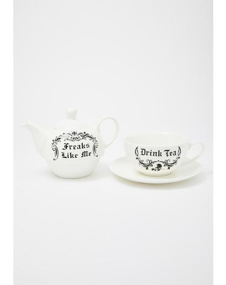 Witches Brew Tea For One Set