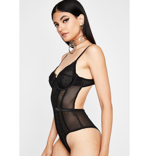 Onyx Fave Archenemy Sheer Bodysuit
