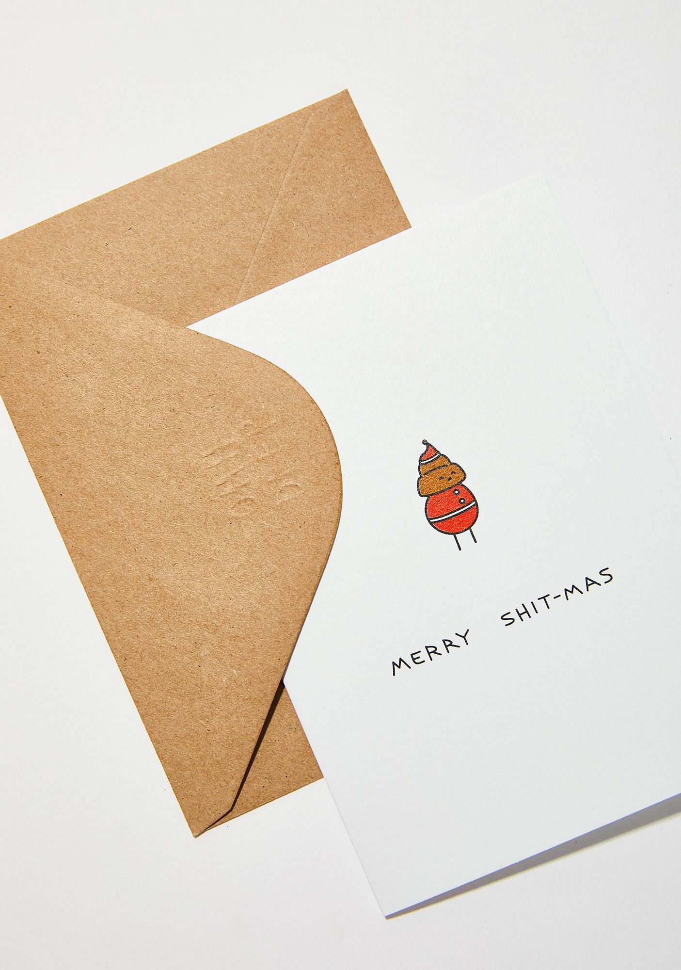 Ohh Deer Merry Shitmas Card