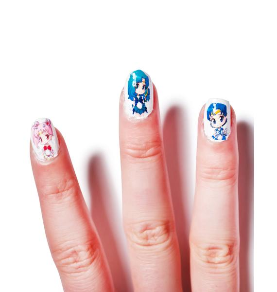 Chibi Moon Babes Nail Stickers