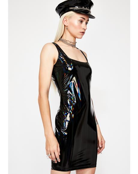 Deep Electro Boost Hologram Dress