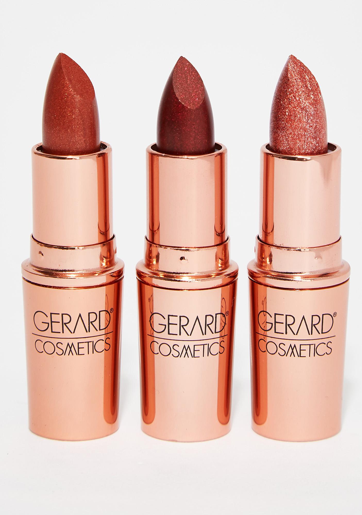 Gerard Cosmetics All Access Glitter Lipstick