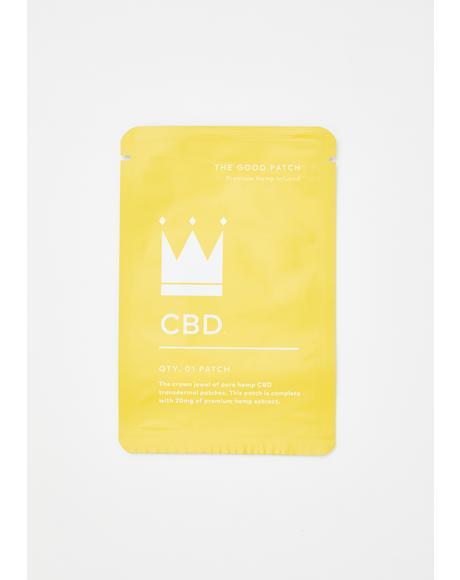CBD Hemp-Infused Patch