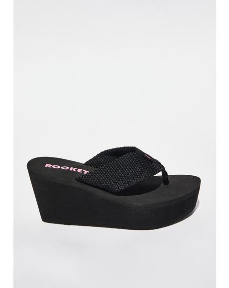 Diver Platform Sandals