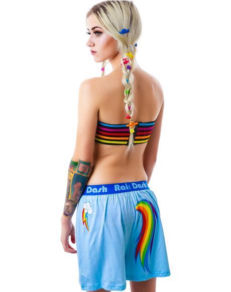 Rainbow Dash Little Pony Boxer