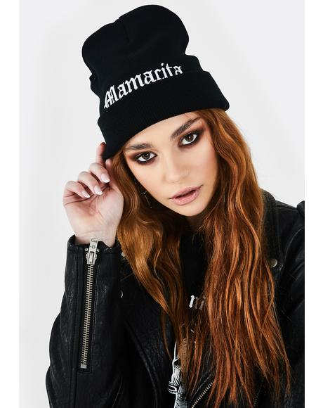 Whatz Up Mamacita Knit Beanie