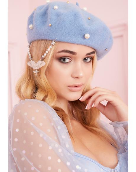Cupid Pearl Beret