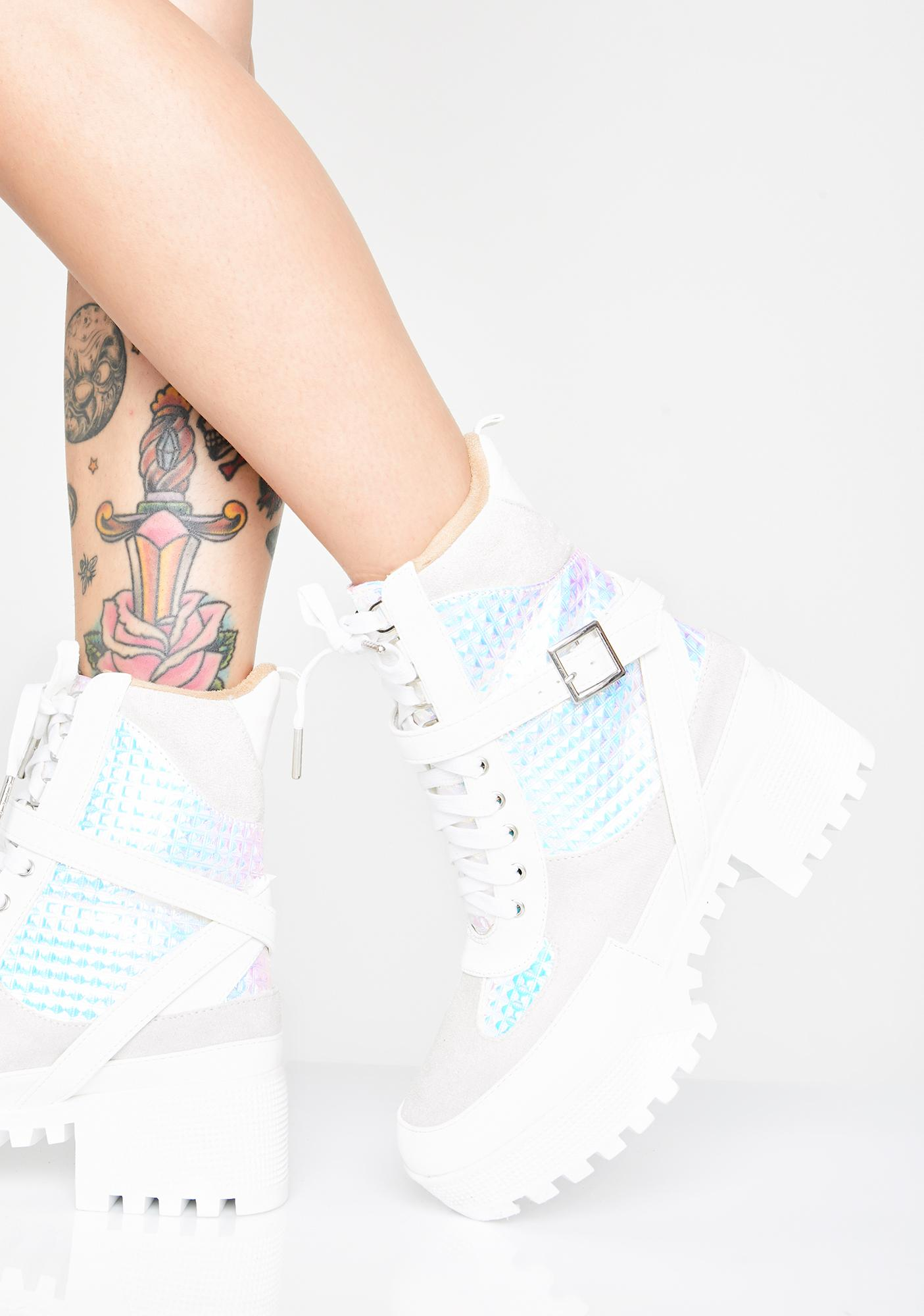 Icy Chase The Ace Combat Boots