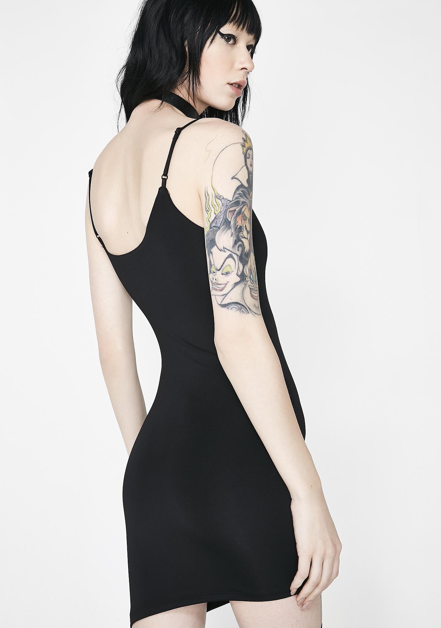 Kiki Riki Not An Angel Asymmetrical Dress