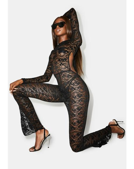 Go To Town Lace Catsuit