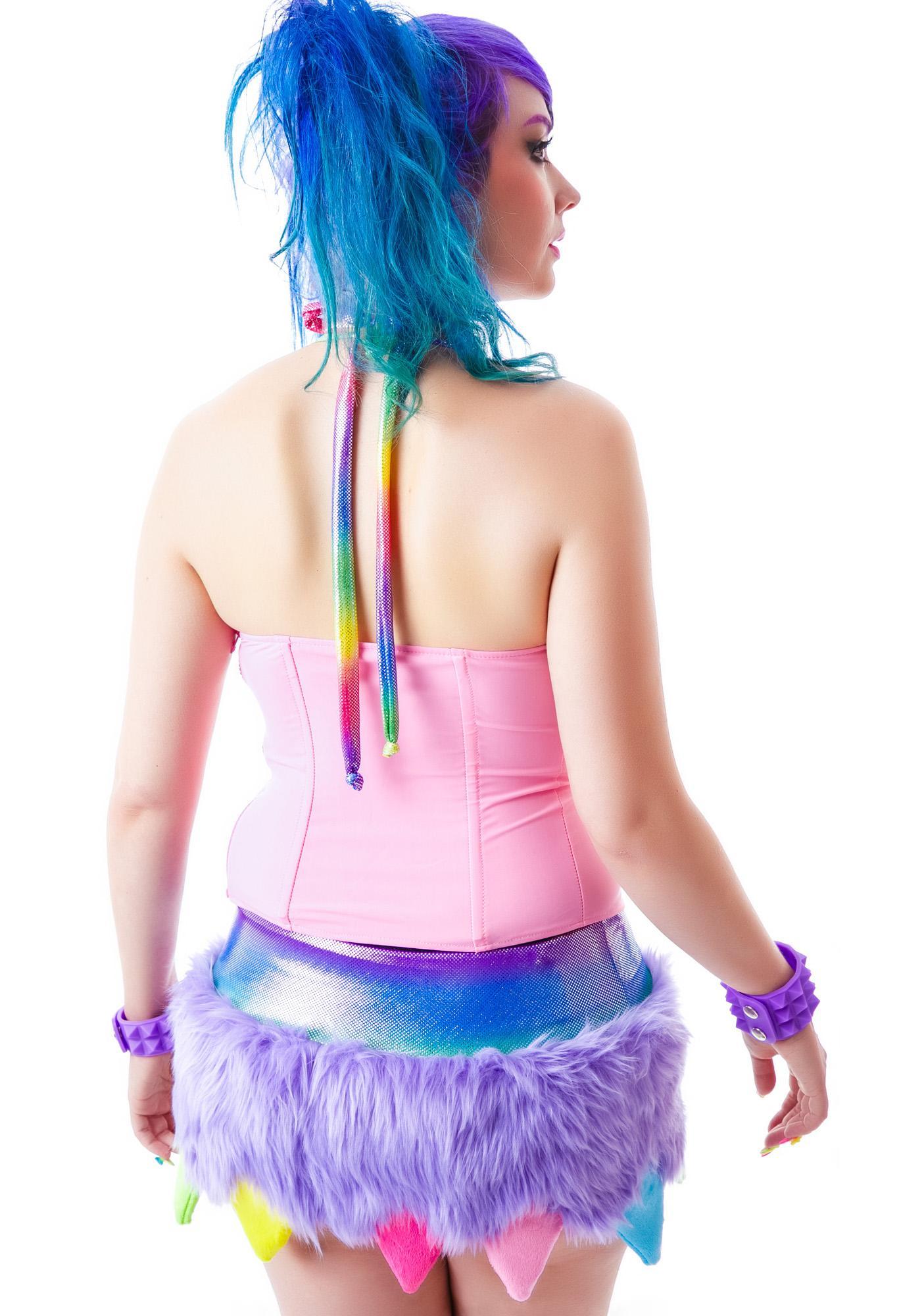 J Valentine Dragonheart Skirt Set