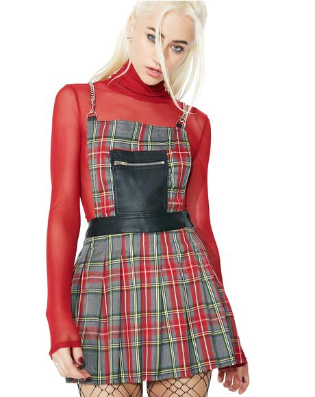 Teen Spirit Plaid Dress