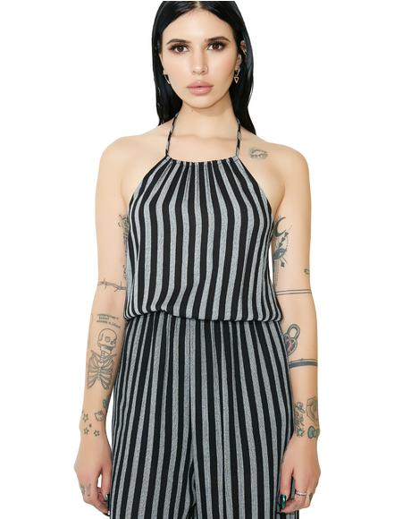 Stripe Me Wide Leg Jumpsuit