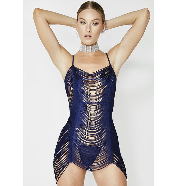 Flaunt It Right Draped Chemise
