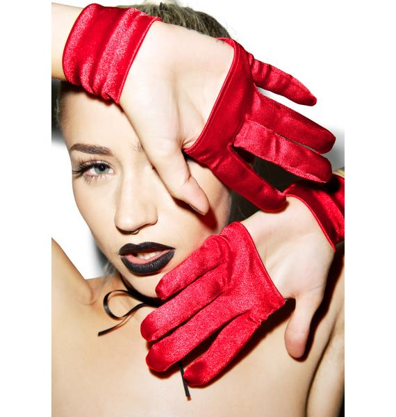 Cut-Throat Cut Out Gloves