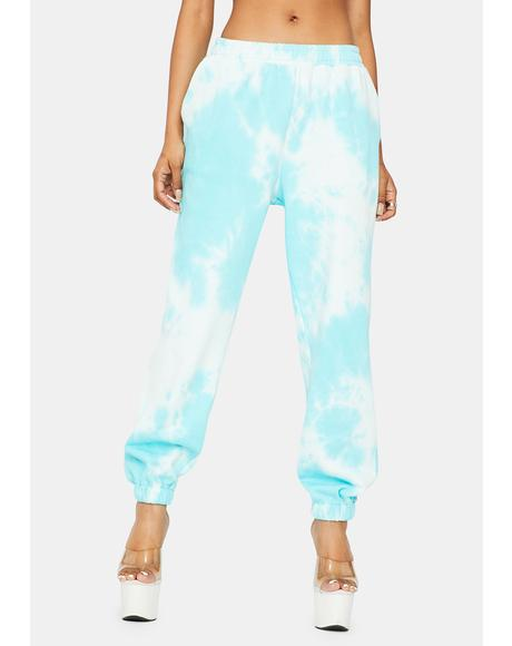 Plush Pleasers Tie Dye Sweatpants