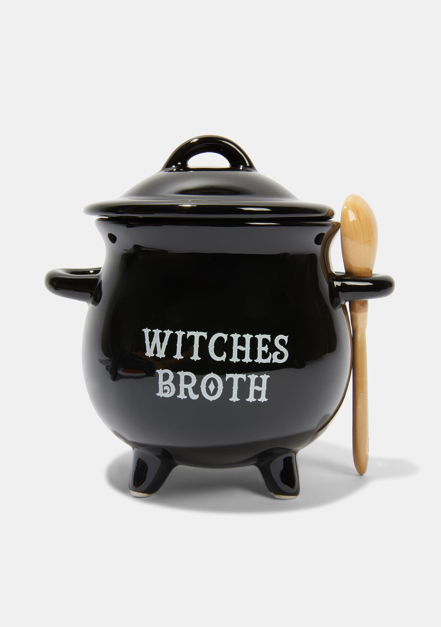 Witches Broth Cauldron Soup