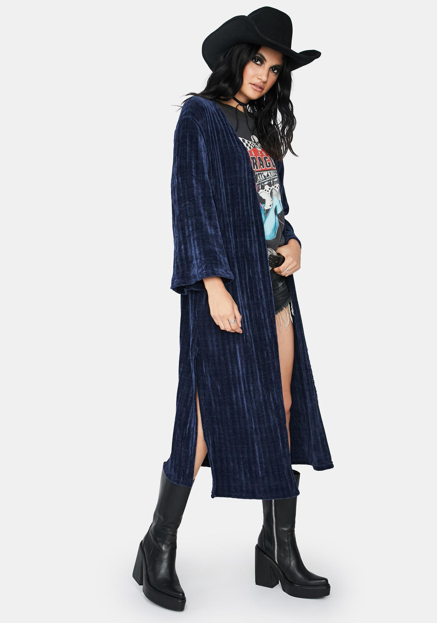Tempted To Touch Duster Jacket
