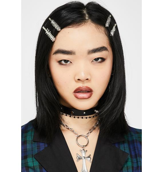 Dolls Kill x The Craft Wicca Weirdos Hair Pins