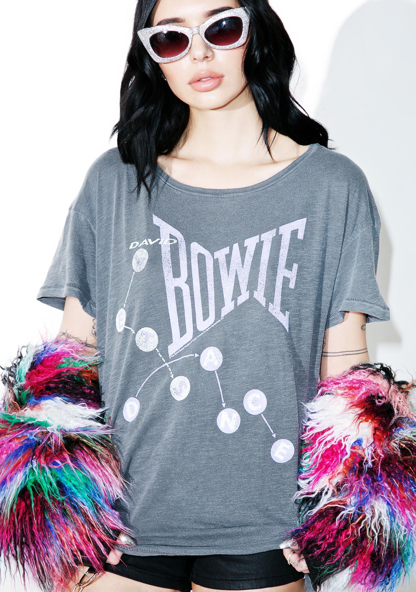 Junk Food Clothing David Bowie Boyfriend Tee