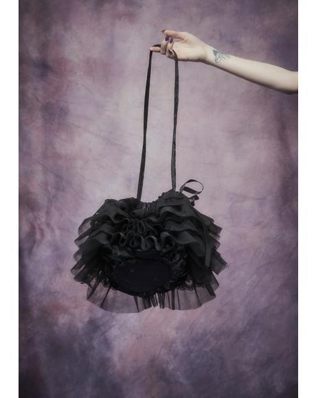 Elfin Royalty Ruffle Sack Bag