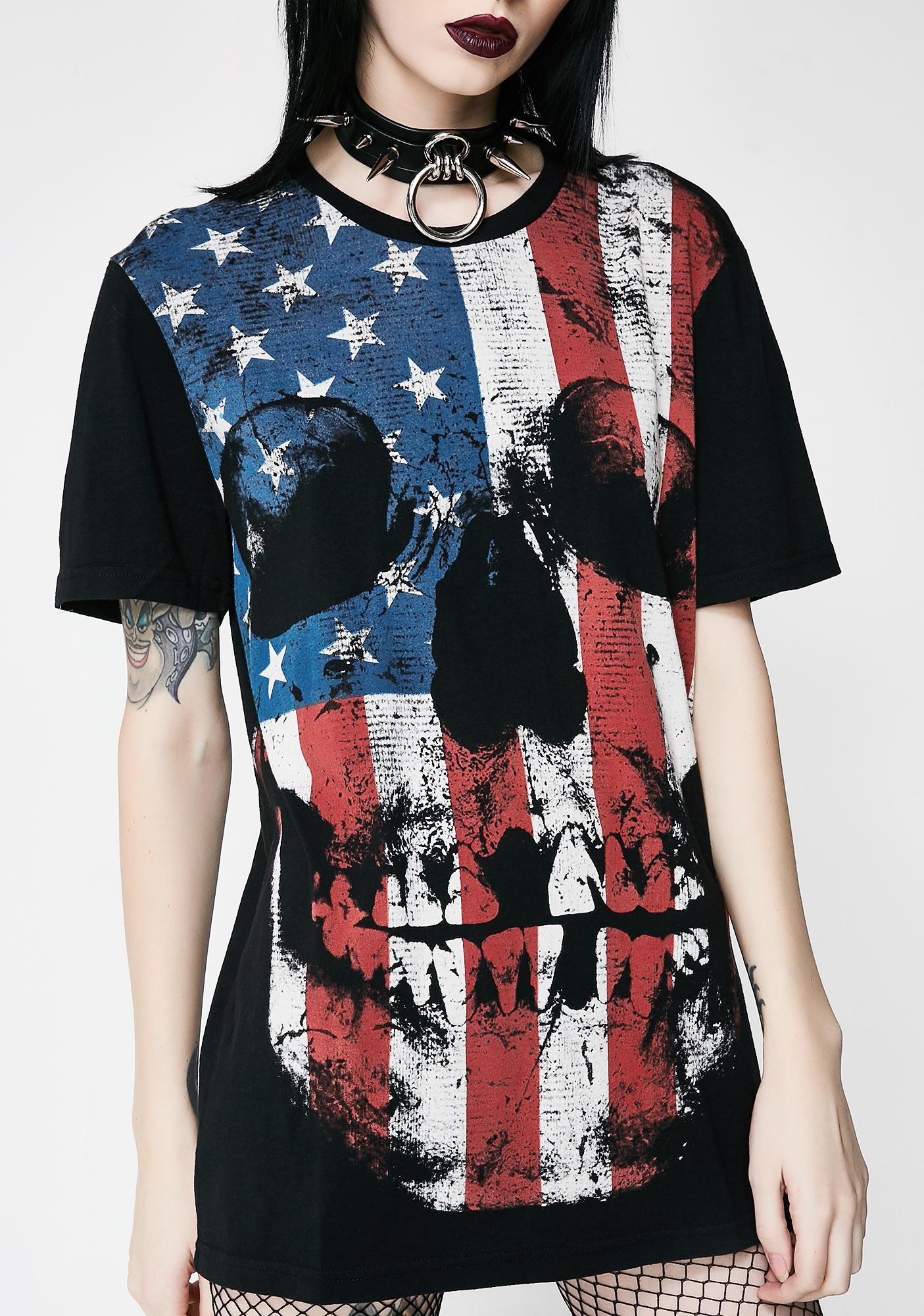 Iron Fist Stars And Stripes Tee