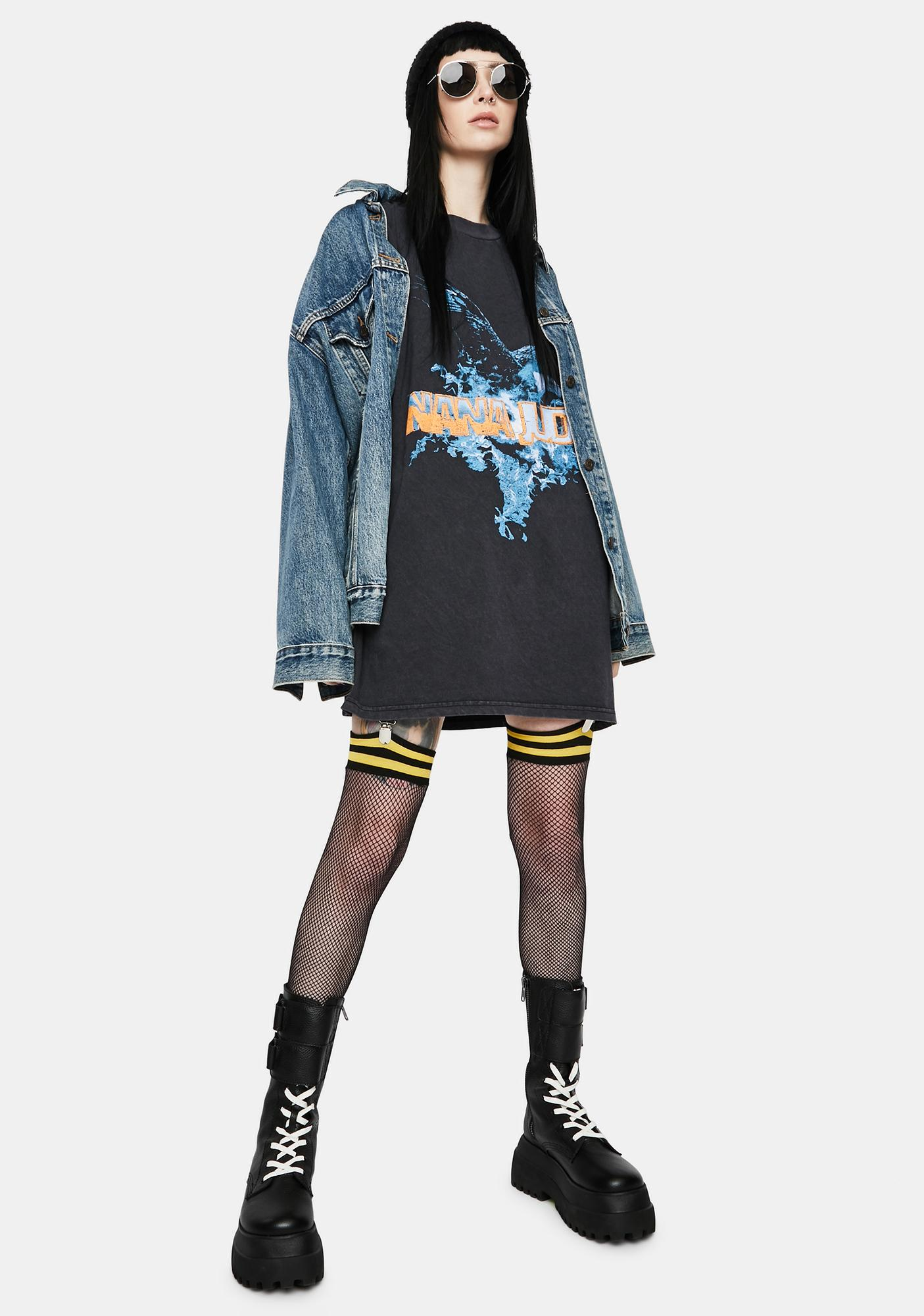 Nana Judy Fly High Graphic Tee Dress