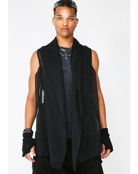 Chiffon Vest