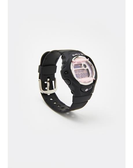 Black Baby G Digital Watch