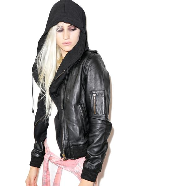 Killstar Widow Hood Jacket