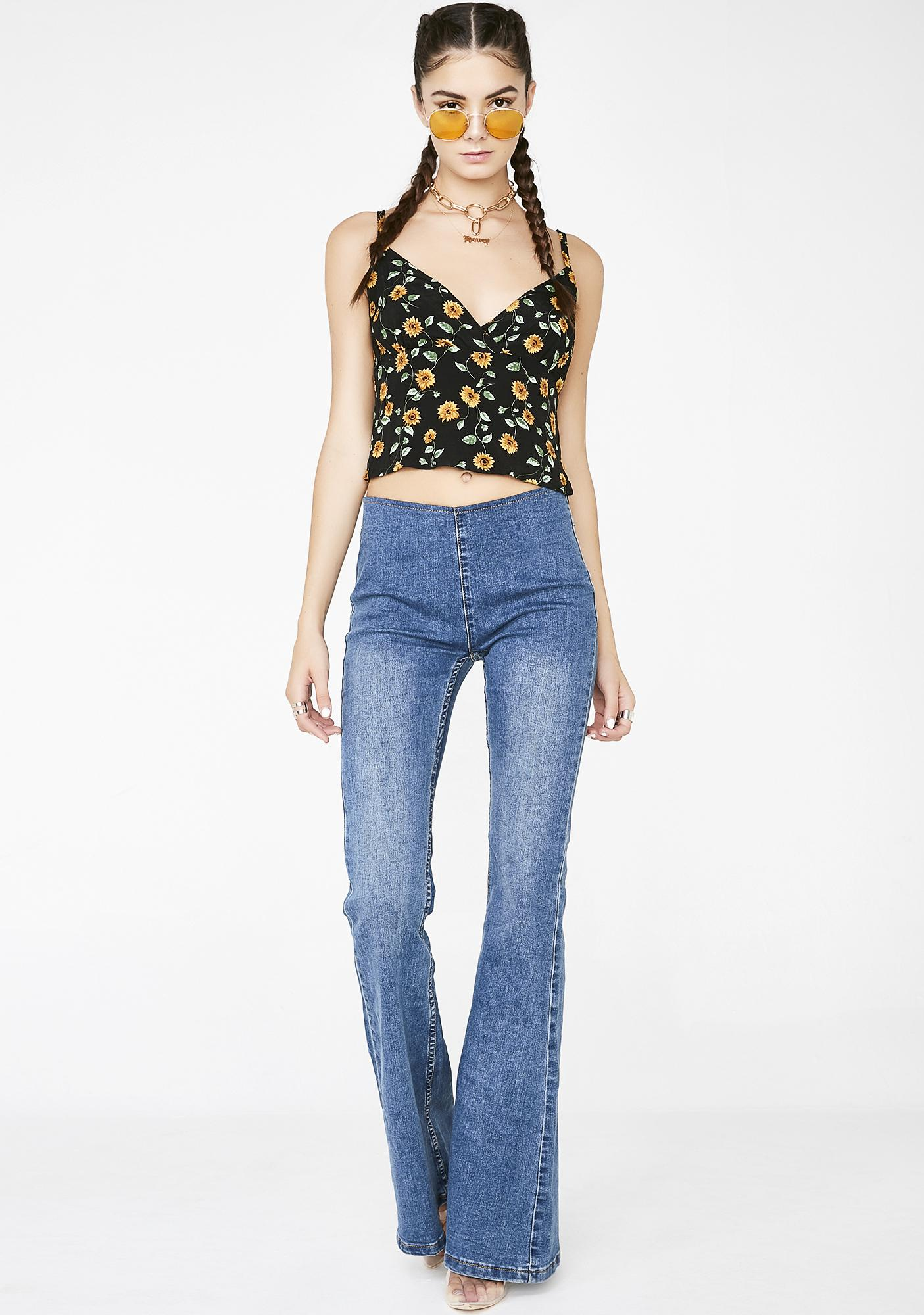 Wicked Sunshiny Day Crop Top
