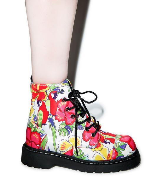 T.U.K. Tropical Parrot 7 Eye Boots