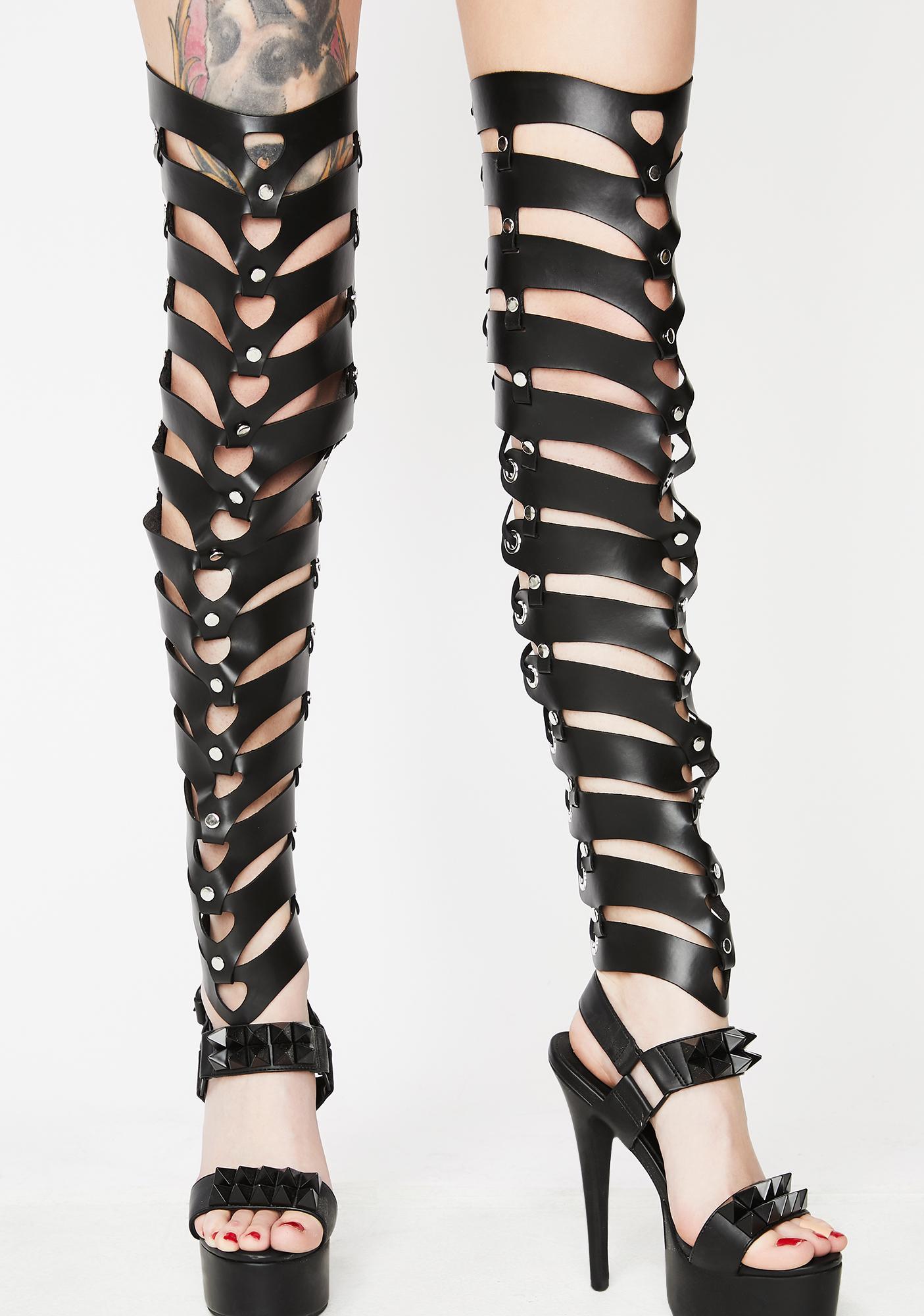 Kiki Riki Oh Yes Daddy Leg Harnesses