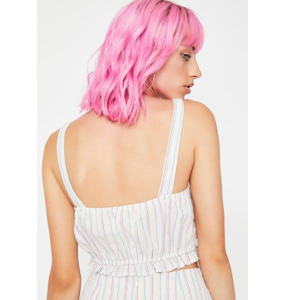 Hayes Valley Striped Top