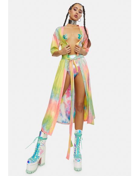 Wings Of Paradise Ombre Kimono