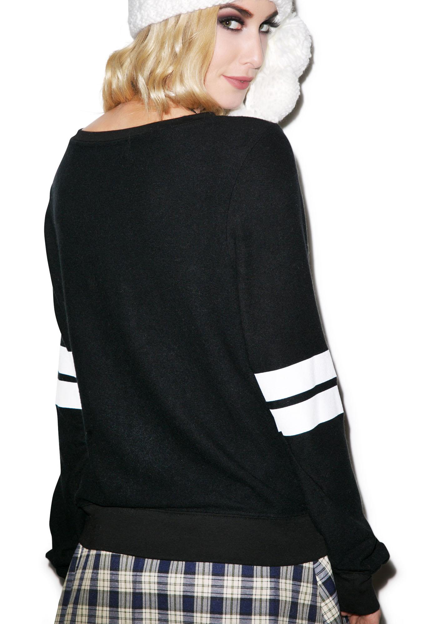 Wildfox Couture Polo Club Baggy Beach Jumper