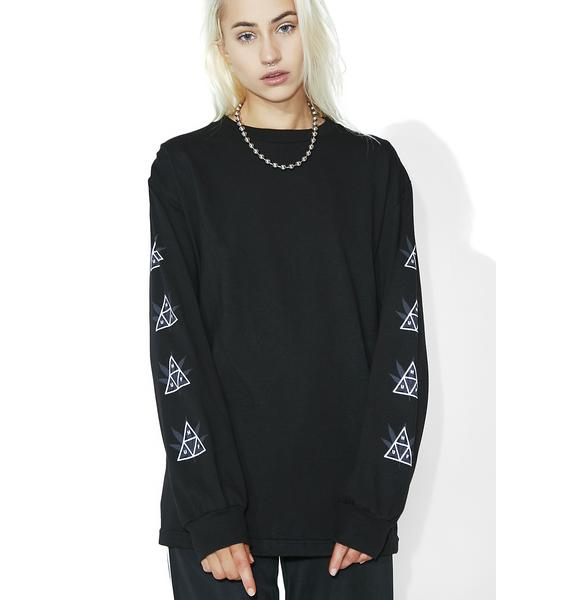 HUF 420 Triple Triangle LS Tee
