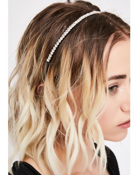 Miss Diva Rhinestone Headband
